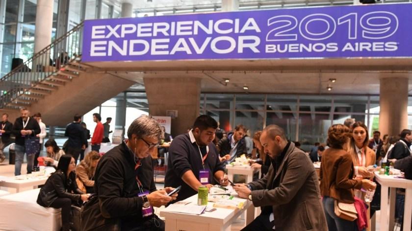 En el CEC abrió Experiencia Endeavor, un lugar donde los emprendedores intercambian experiencias enriquecedoras de negocios (Maximiliano Luna)