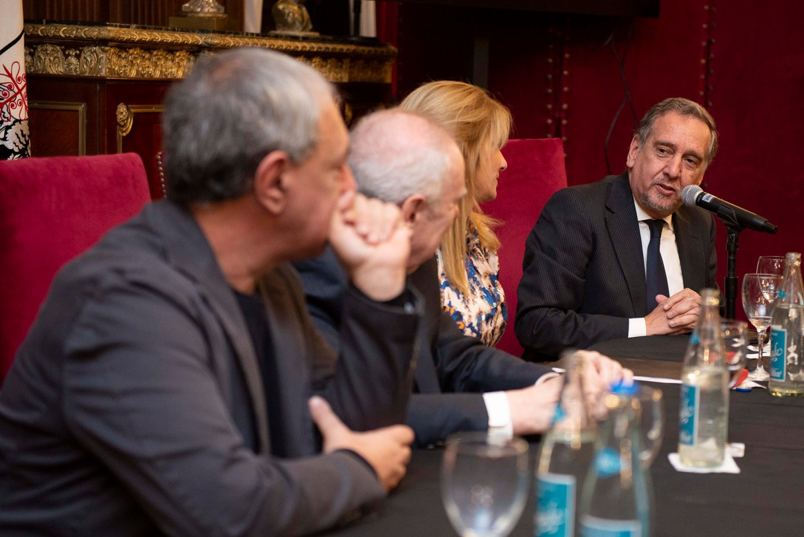 Lino Barañao dirigió unas palabras en el acto