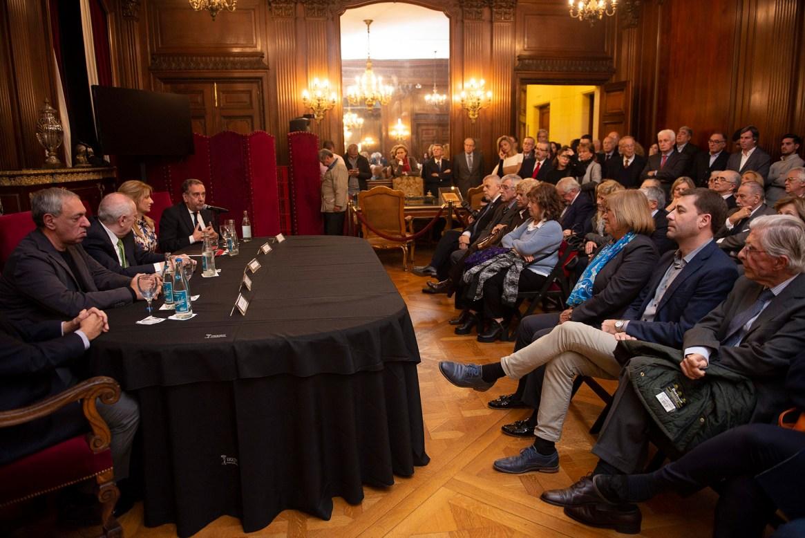 Las palabras de Alberto Barbieri, rector de la Universidad de Buenos Aires