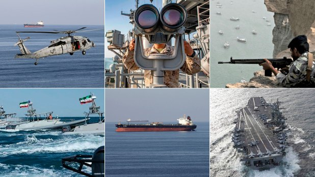 El estrecho de Ormuz, escenario de una tensión creciente entre Estados Unidos e Irán