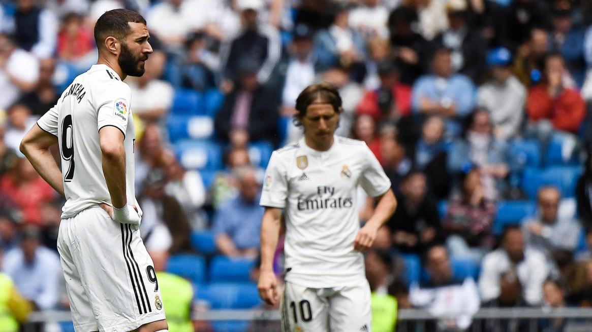 El Real Madrid acabó tercero a 8 puntos del Atlético de Madrid (segundo)