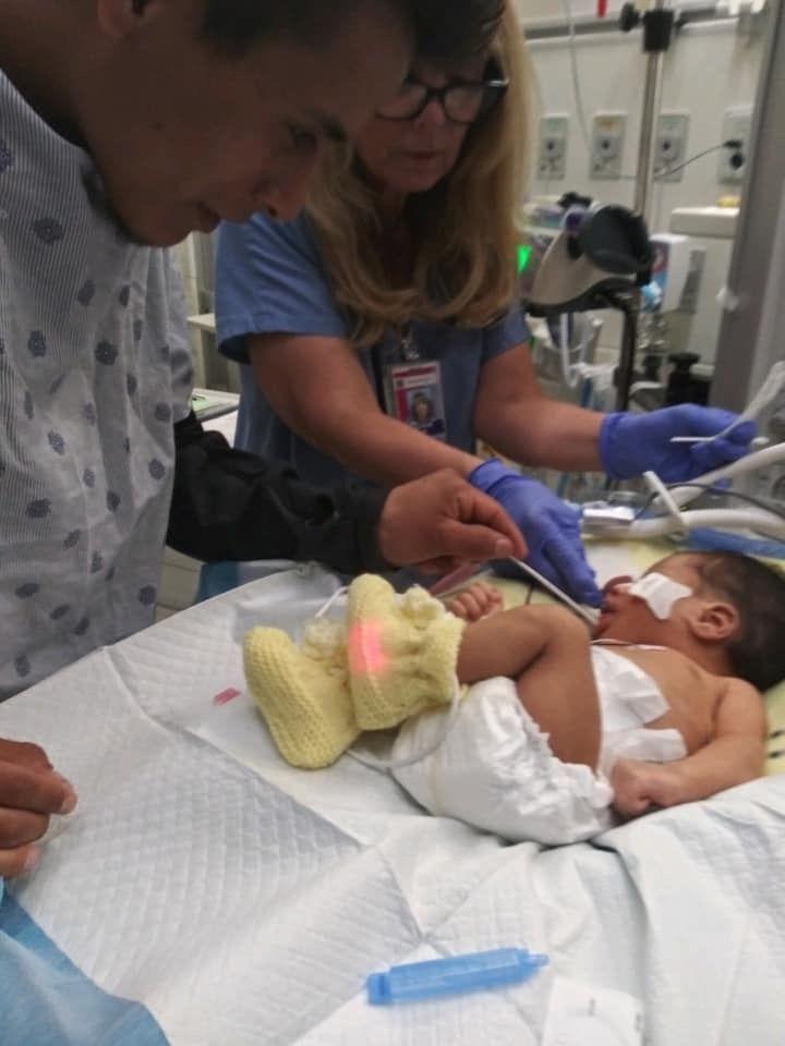 Los exámenes de ADN confirmaron que el bebé es hijo de Yovani López y Marlen Ochoa (Foto: change.org)
