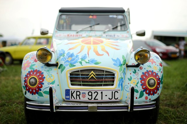 """Another """"hippie"""" 2CV repeated an appeal.  (Reuters)"""
