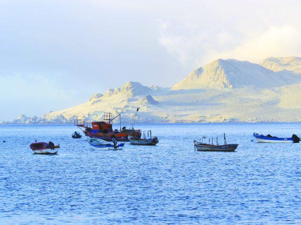 PLAYA CIFUNCHO. Es una hermosa playa apta para el baño y una caleta de pescadores donde se puede disfrutar de los pescados frescos en Taltal.