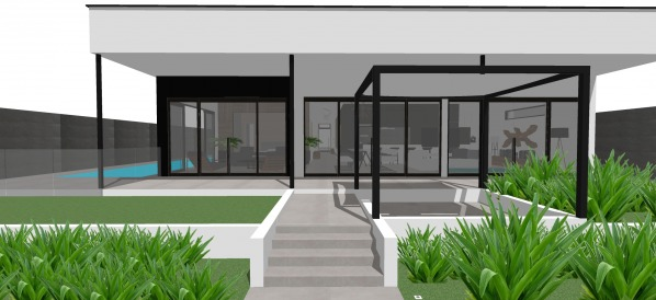 Front Yard Back Yard Designed By Ap E Design Team Modern Back Garden Design Mooloolaba Au Arcbazar
