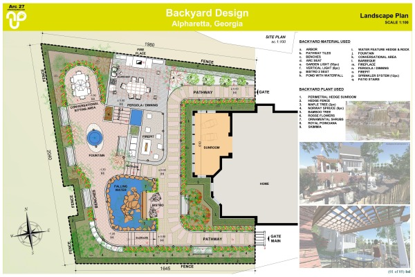 Backyard Designed by a+bd_architects - Backyard Design ... on Backyard Layout Planner id=41308