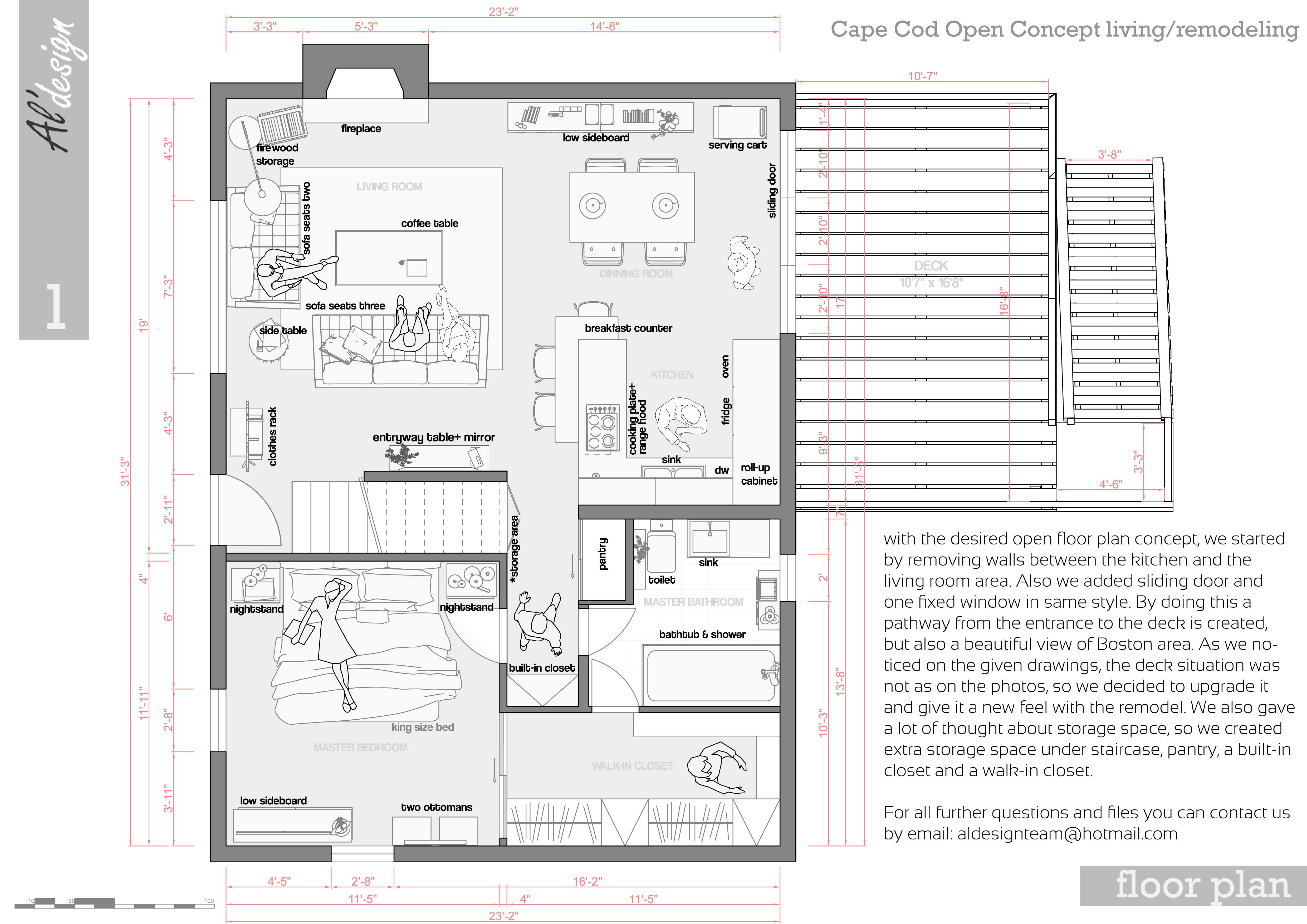 Entire Floor Design Project Designed By Al Design Team