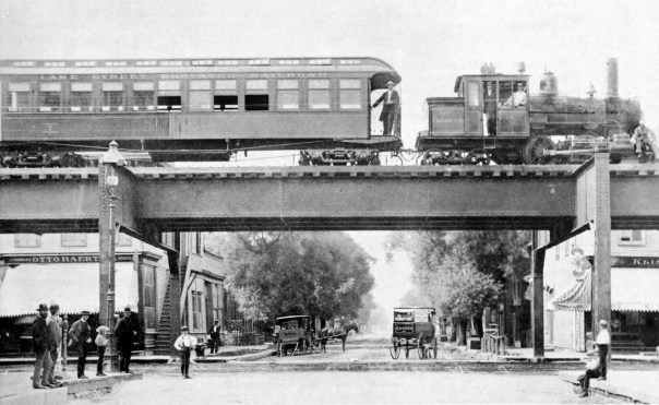 "Image result for 1892 – The Chicago ""L"" commuter rail system begins operation"
