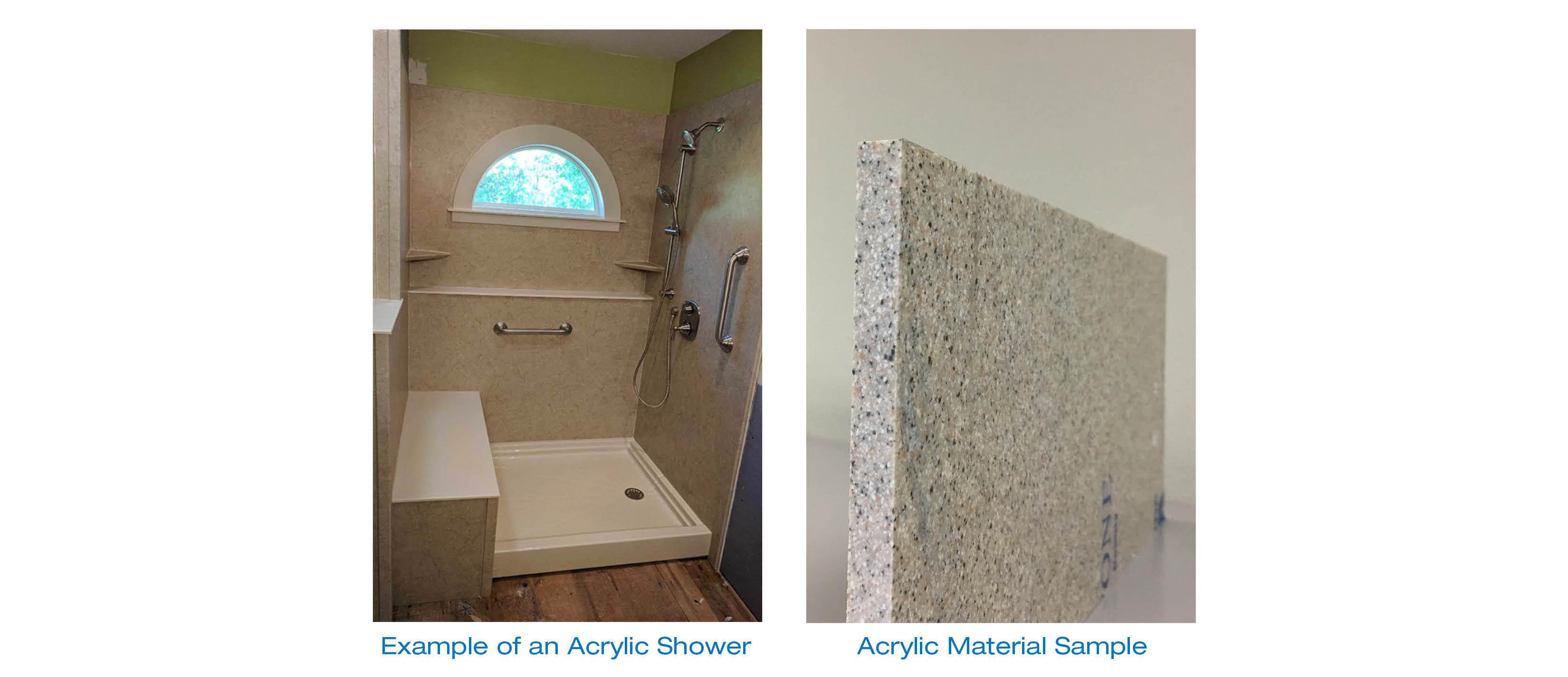 acrylic vs fiberglass how materials