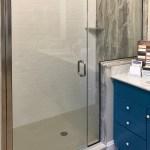 Infinity Semi Frameless 1 4 Inch Glass Swing Door Basco