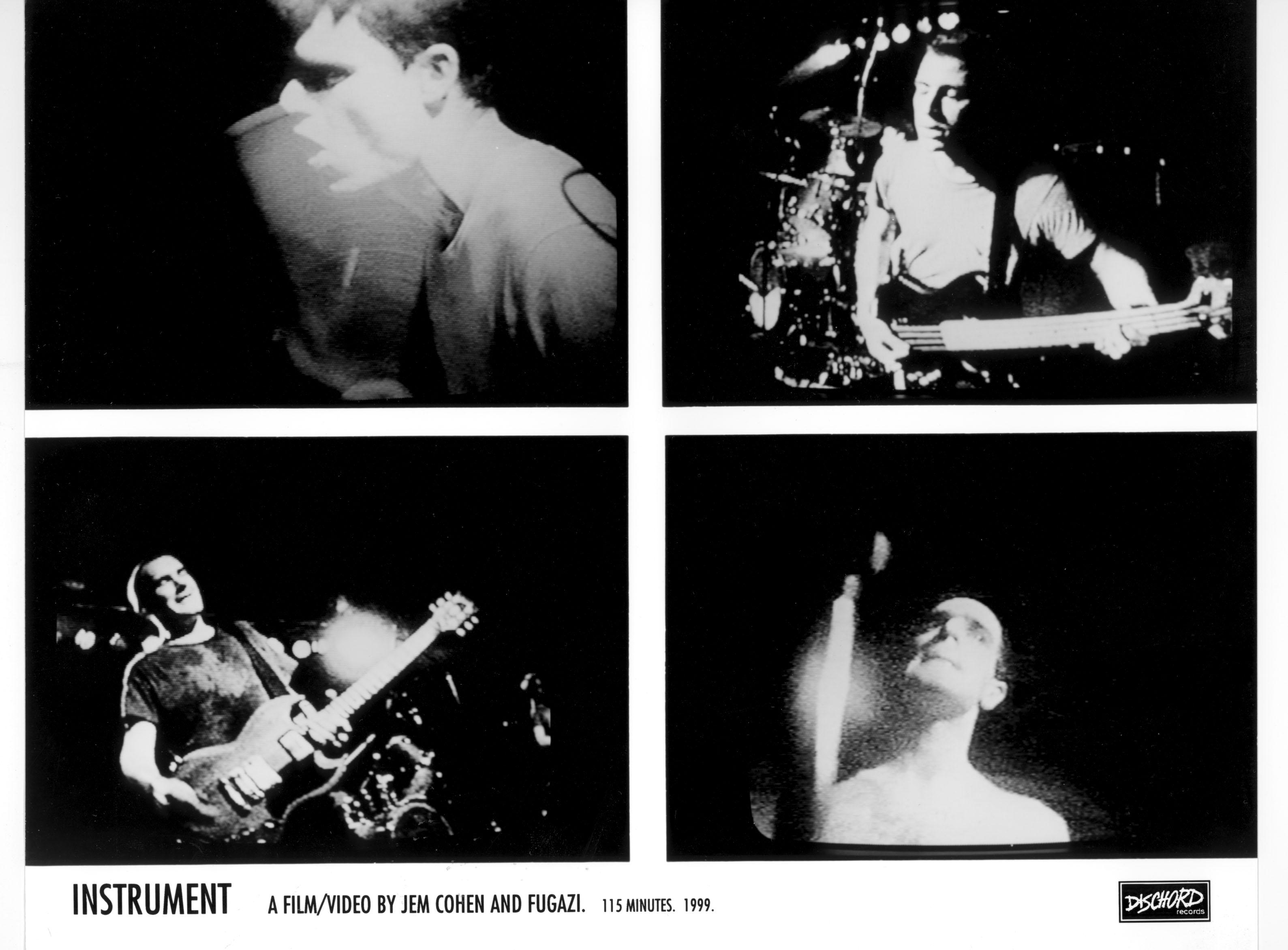 Fugazi Instrument Dischord Jem Cohen