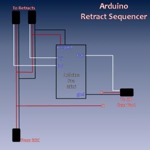 DIY Retract Sequencer using an Arduino | Flite Test