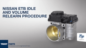 Nissan Electronic Throttle Body Idle and Volume Relearn Procedure  Know Your Parts