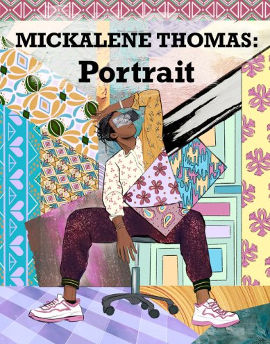 """Cover of Shayna Cohen's """"Portrait: A Comic about Mickalene Thomas"""". (Image credit: Shayna Cohen / Smithsonian American Art Museum)"""