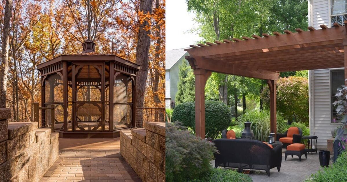 Pergola Vs Gazebo Which Is Right For You Woodland