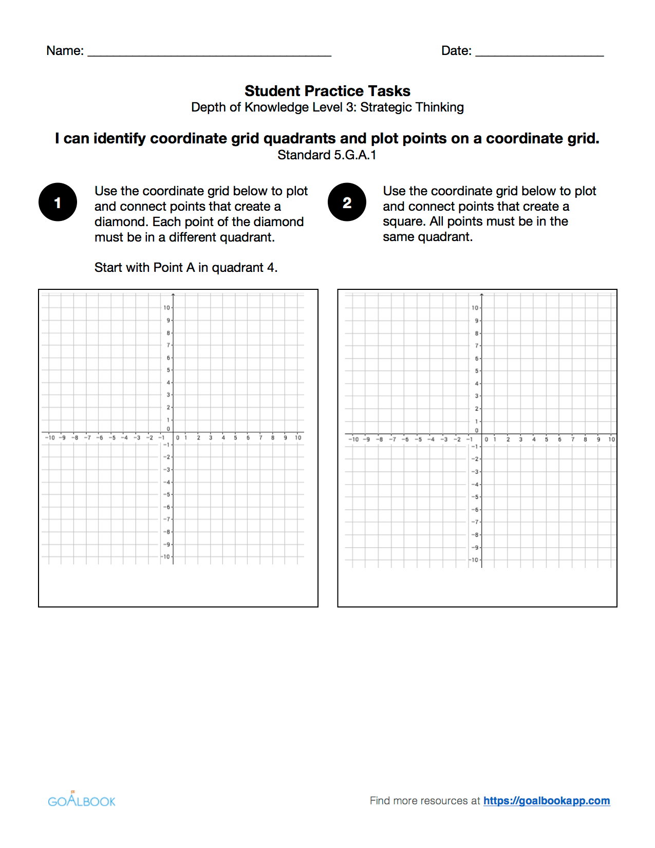 5 G 1 Graph Ordered Pairs