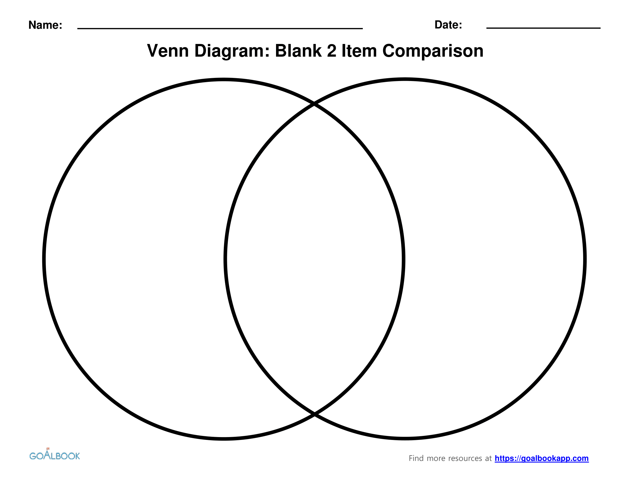 Venn Diagram Problem To Print