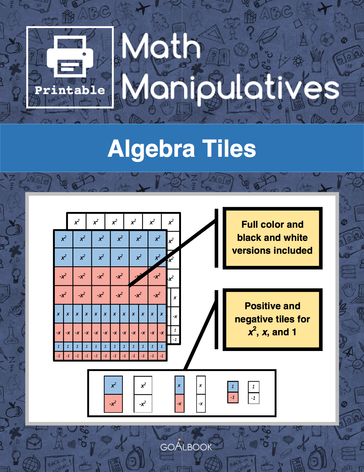 Algebra Tiles Udl Strategies Goalbook Toolkit