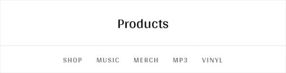 Merchato WooCommerce archive menu