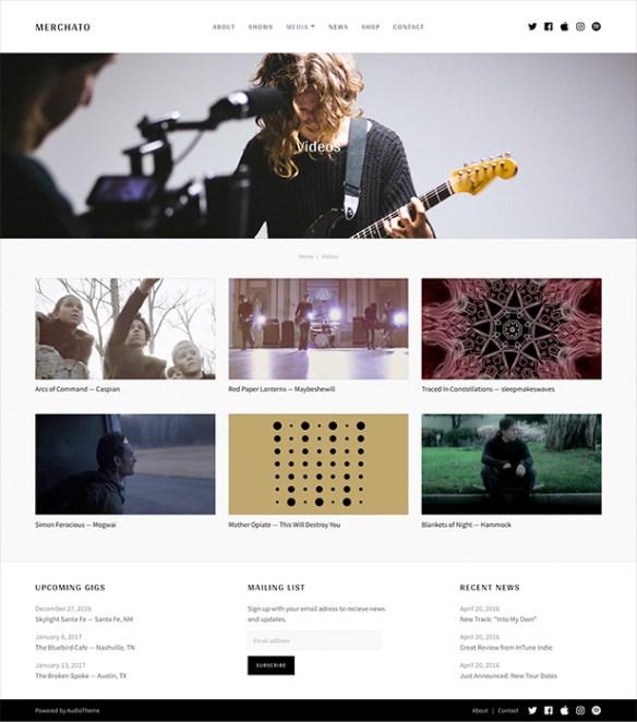 Merchato video library