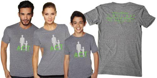 ACT shirts