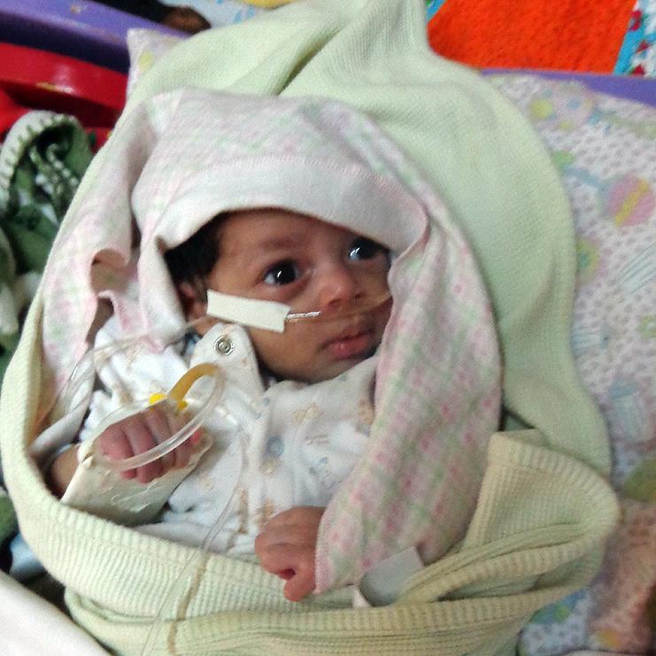 Baby Tesfanesh