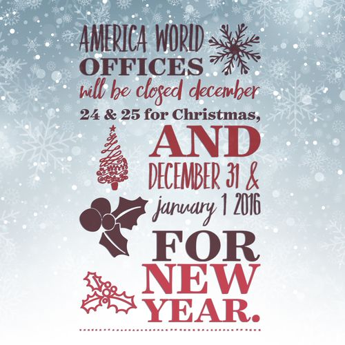 AW Holiday Hours