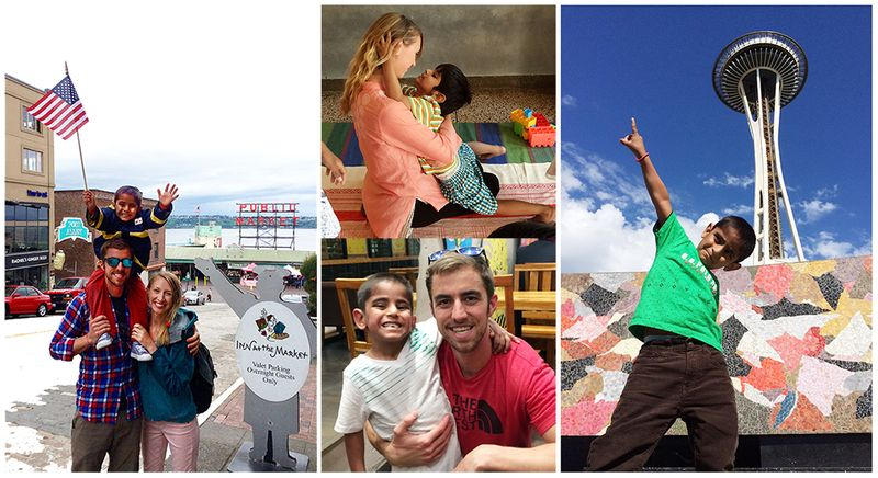 Church Family collage