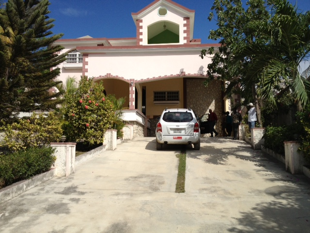 HA Guesthouse front