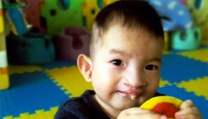 child from china