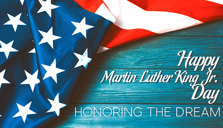 Holiday Office Closing Martin Luther King Jr Day America World