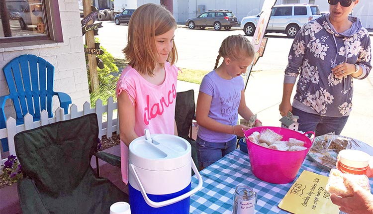 Lemonade Stand for Ethiopia Orphans