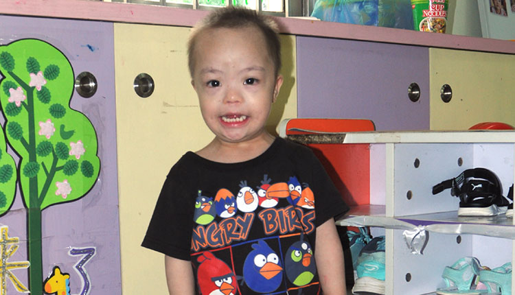 adopt down syndrome boy