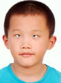 China orphan passport photo