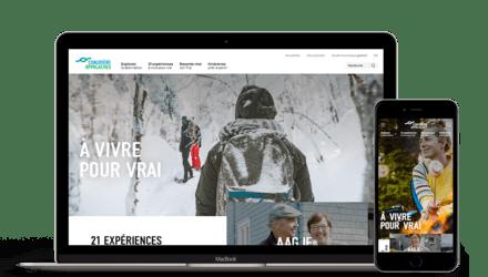 Tourisme Chaudière-Appalaches   Plateforme web