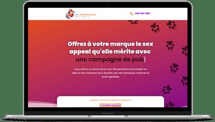 Site web Les Remarqués