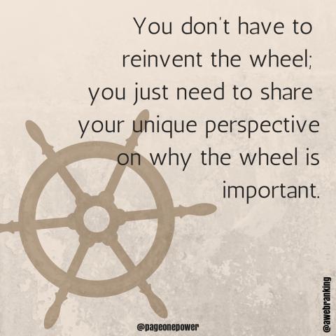 content-marketing-reinvent-wheel