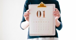 Moody? Make Yourself A Mood Calendar