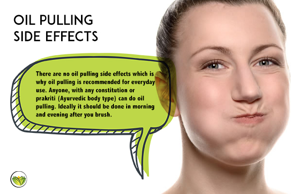 Happy woman oil pulling, oil pulling side effects, oil pulling benefits.