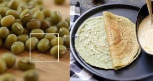Split Green Gram Dosa + Amazing Nutritional Benefits Of Mung Beans