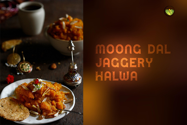 Ayurvedic Holiday Sweets: Moong Dal Jaggery Halwa