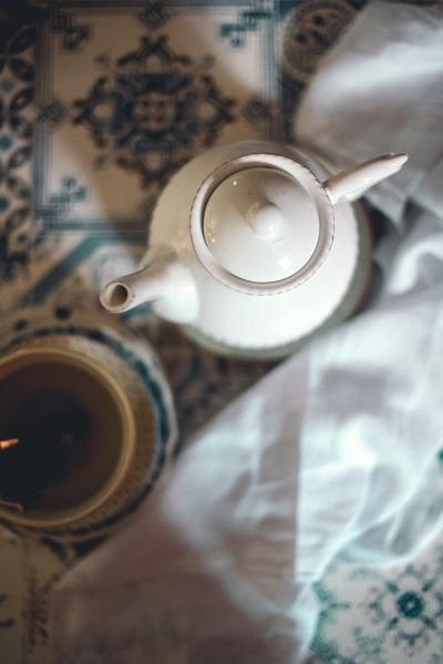Ginger tea, ginger water.