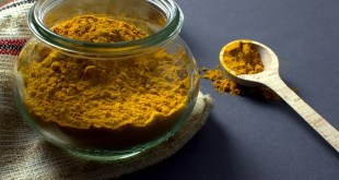 A jar of turmeric in the kitchen. Will Turmeric lower blood pressure? That and so much more.