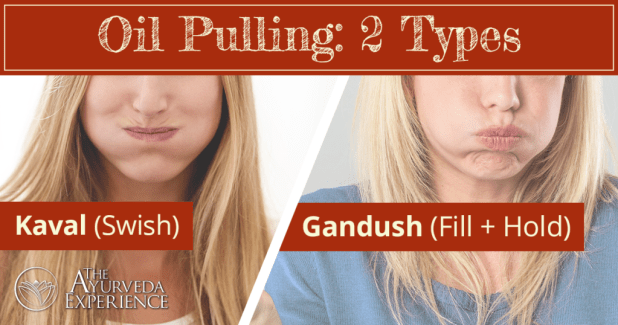 Does oil pulling work? There are two types of oil pulling.