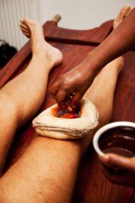 Ayurvedic remedies therapies yoga for bad knees pain