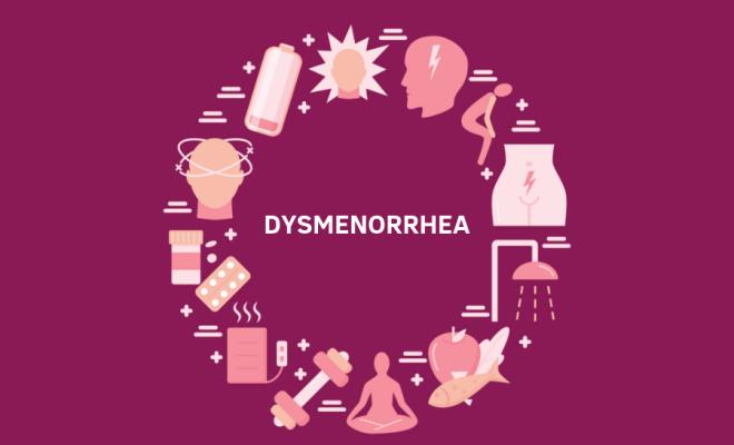 Dysmenorrhea symptoms causes menstrual pain relief Ayurvedic remedies