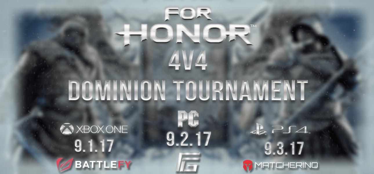 RForhonor Season 3 4v4 Dominion Tournament Xbox One