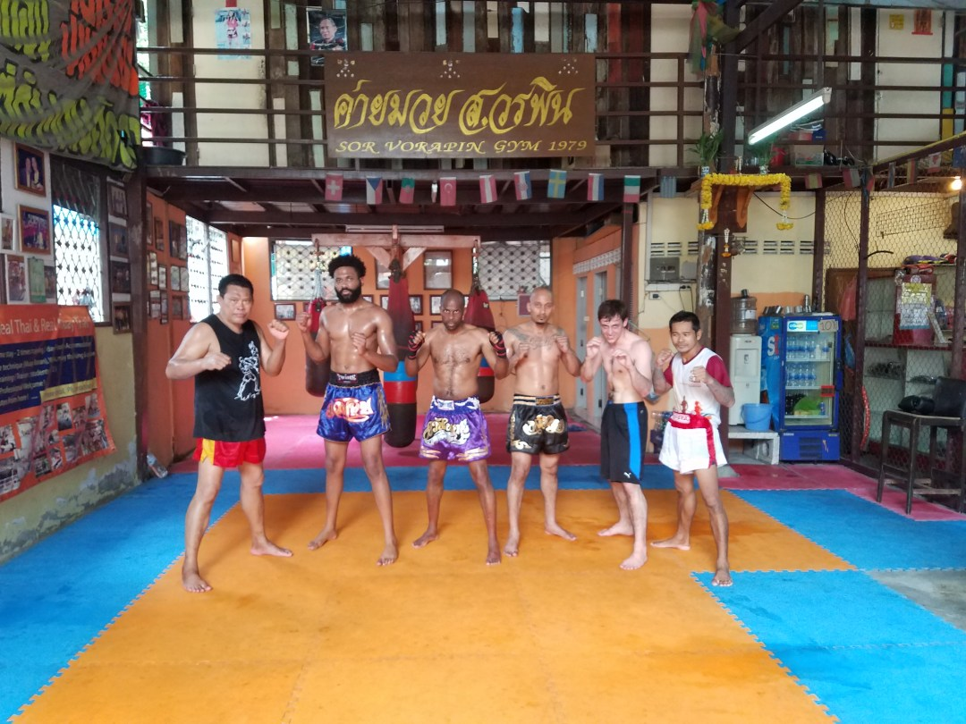 Sor Vorapin Gym Thailand