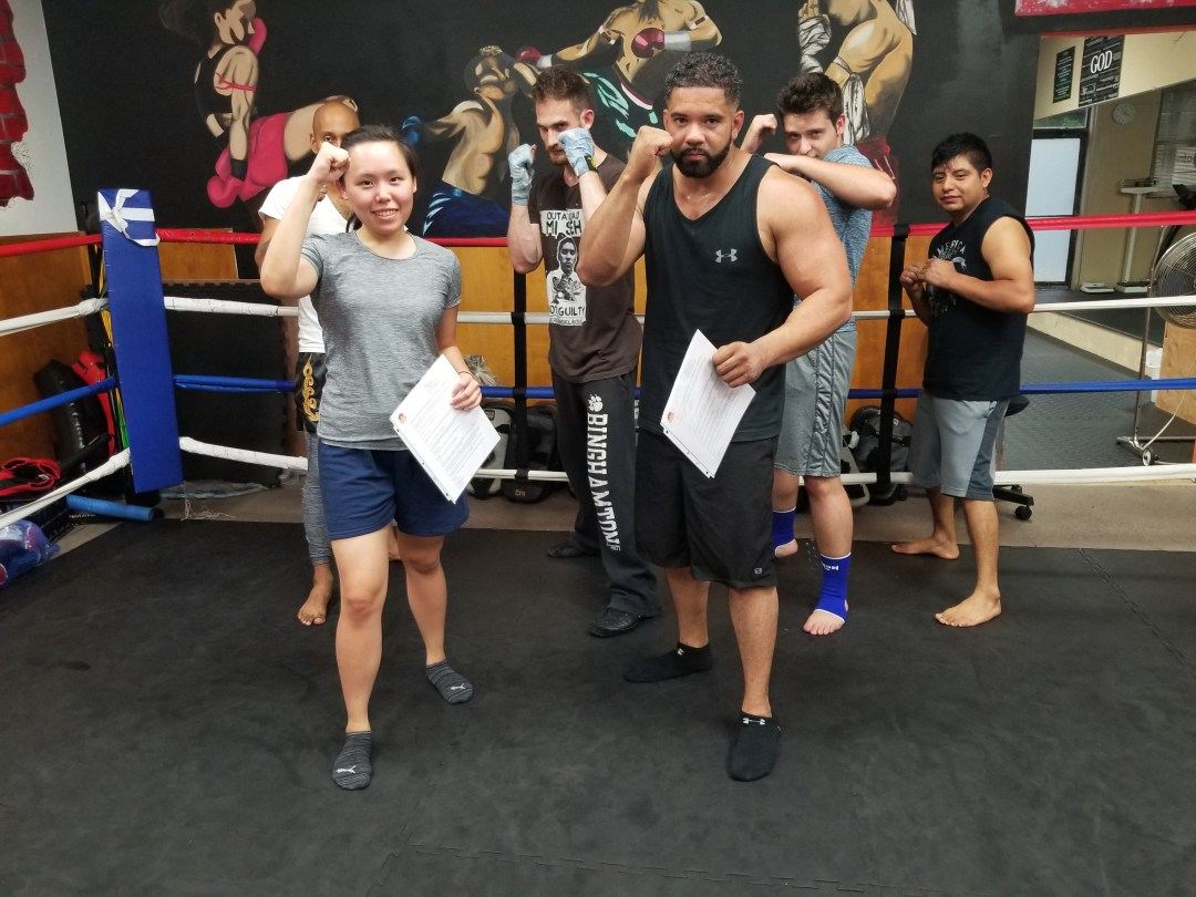 Beginners Muay Thai July 2017