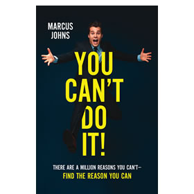 You Can't Do It! book cover